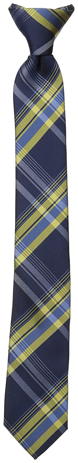 Dockers Big Boys' Plaid Clip On Tie Yellow One Size Dockers Boys 8-20 Belts DY00150010