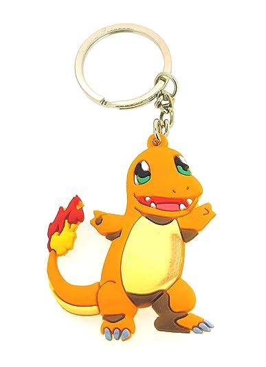 Gemelolandia Llavero Pokémon Charmander: Amazon.es: Joyería