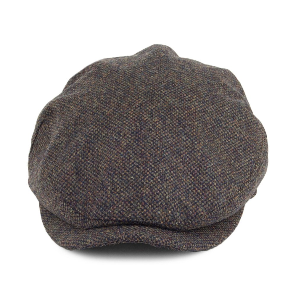 Joules Hats Croftbury Tweed Flat Cap - Forest Top Christmas gifts 2018 a5f3842e40d