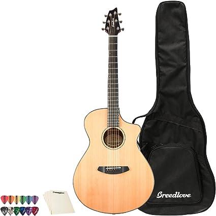 Breedlove Solo Concert CE Red Cedar-Ovangkol guitarra acústica ...