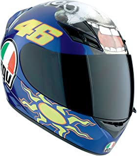 AGV K3 The Donkey Full Face Motorcycle Helmet (Multicolor, X-Small)