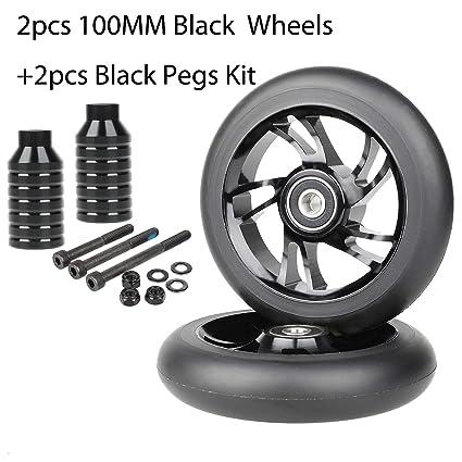 Amazon.com: Kutrick - Juego completo de 2 ruedas para ...