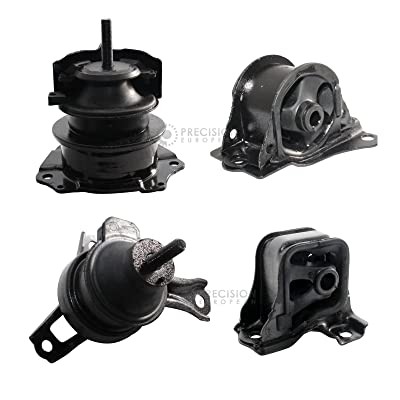 4pcs Motor Mounts Set Kit Compatible with 98-02 Honda Accord 2.3L 4Cylinder Auto AT Automatic Transmission Trans - 1998 1999 2000 2001 2002 Engine Mounts: Automotive
