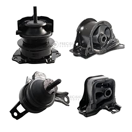 Amazon Com 4pc Motor Mounts Set Kit For 98 02 Honda Accord 2 3l