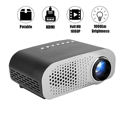 Proyector, Proyector Profesional de 1080P Compatible con Mini ...