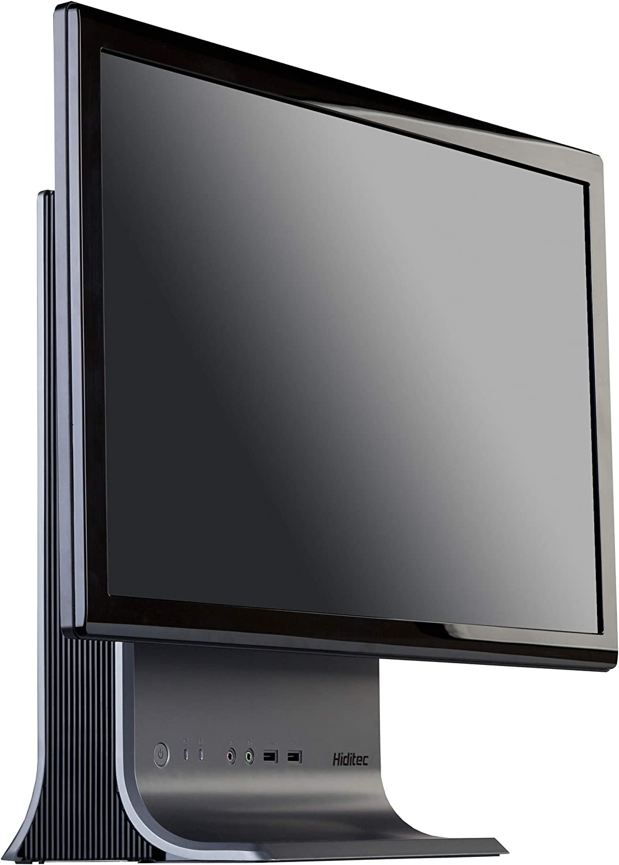 Hiditec | D-1 Multiplatform - Caja de Ordenador de sobremesa (3.5 mm, 2 x USB 2.0), Negro y Gris: Amazon.es: Informática