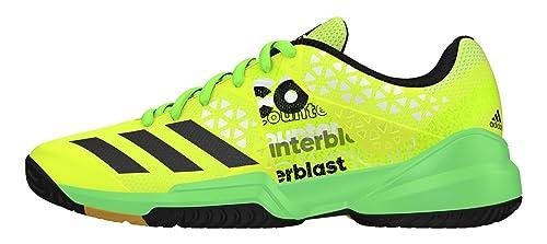 adidas Counterblast Falcon J, Zapatillas de Balonmano para Niños, Amarillo (Amasol/Neguti