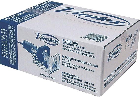 VIRUTEX 1405001 - Caja pastillas N.0 (1000 U): Amazon.es: Bricolaje y herramientas