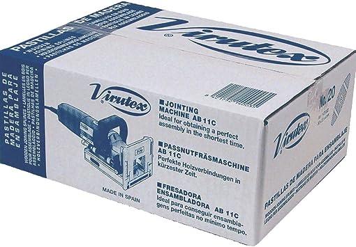 VIRUTEX 1405001 - Caja pastillas N.0 (1000 U): Amazon.es ...