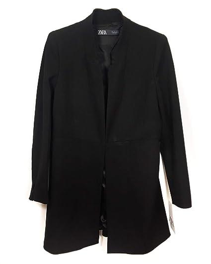 42dc5e90 Zara Women's Inverted Lapel Frock Coat 2143/293: Amazon.co.uk: Clothing