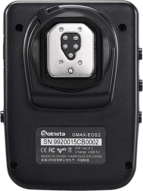 Solmeta GMAX-EOS2 Receptor GPS Geotagger con Disparador de Control ...