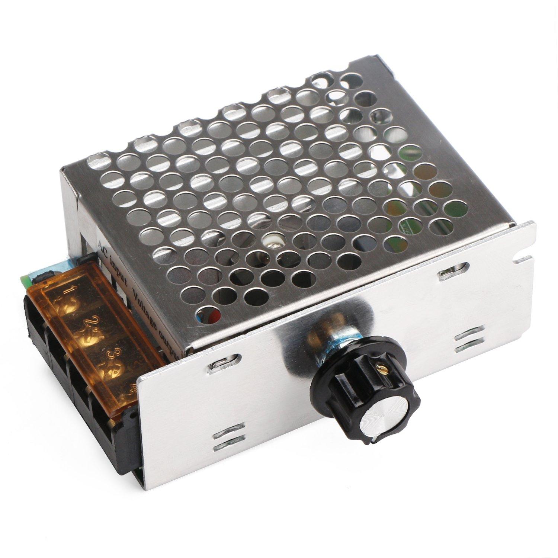 Amazon.com: Motor Speed Controller, DROK Motor Control Board AC 110V ...