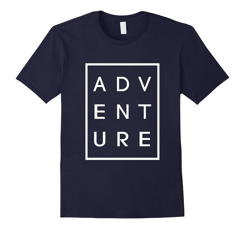 Adventure Black Graphic Unisex Tee-Awarplus