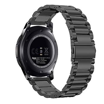 FINTIE Bracelet pour Samsung Galaxy Watch 46mm, Gear S3 Frontier/Huawei Watch 2 Classic