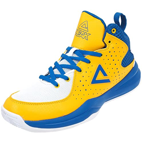 1ad3dcc71b3 Peak - Thunder Gold Blue - Shoes Basketball: Amazon.co.uk: Shoes & Bags