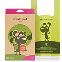 Earth Rated Eco-friendly Dog Poop Bags, 120 Extra Thick and Strong Dog Bags for Poop with Easy-tie Handles, Guaranteed…