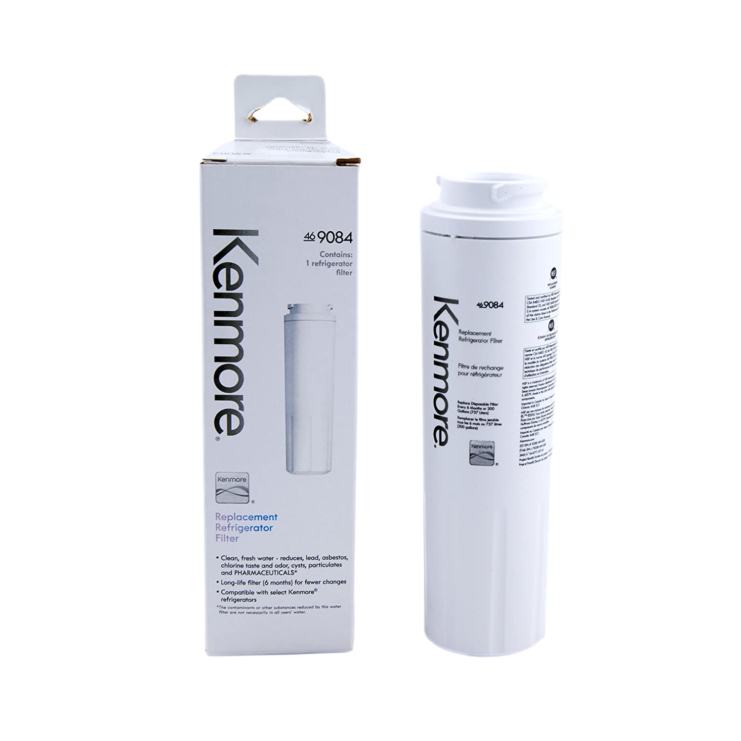 Amazon Kenmore 9084 9084 Refrigerator Water Filter white Home