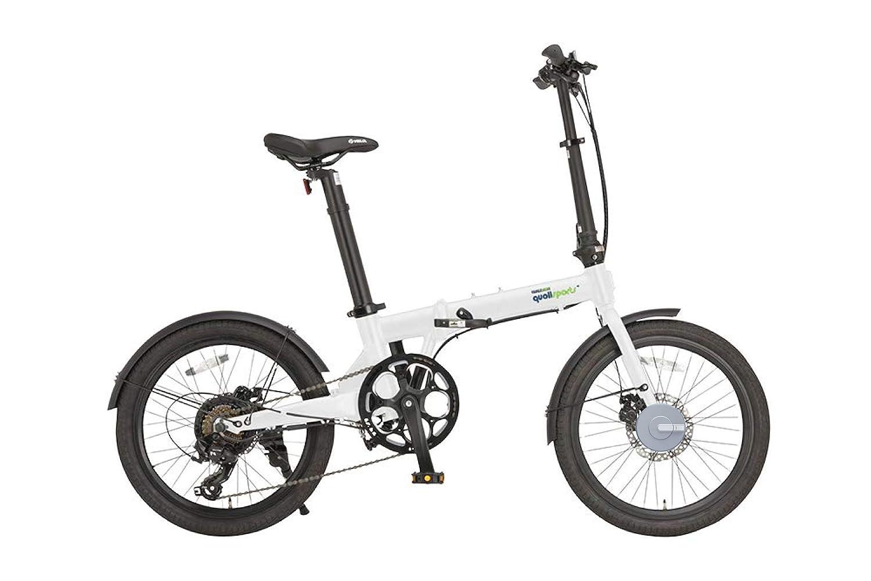 【スマートロックセット商品】販売 AL クオリスポーツ Q2 + Bisecu クオリスポーツ 電動アシスト自転車 折りたたみ 20インチ Q2 | スマートロックシルバー色付き 白