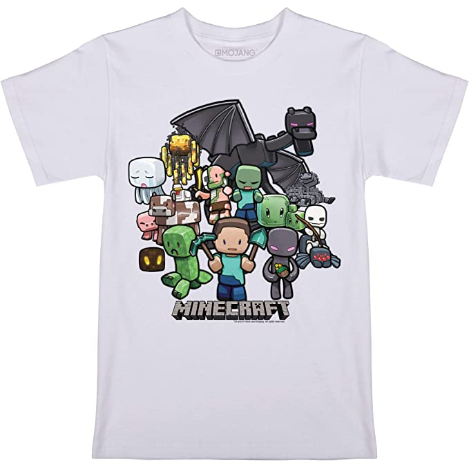 Minecraft Shirt I Boys Minecraft Creeper Shirt I Kids Minecraft T-Shirt T-Shirts & Tops