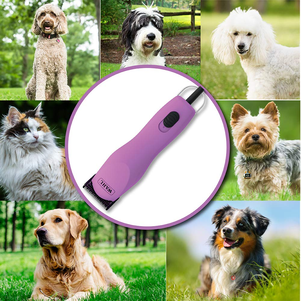Wahl Professional Animal Pink Thick Coat Pet Clipper & Dog Clipper (#9787-300) by Wahl Professional Animal (Image #4)