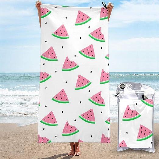 Serviettes de Plage pour Femmes Hommes Blanket Polka Dot ...