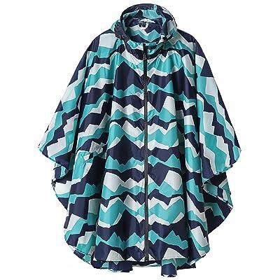Rain Poncho Jacket Coat Hooded