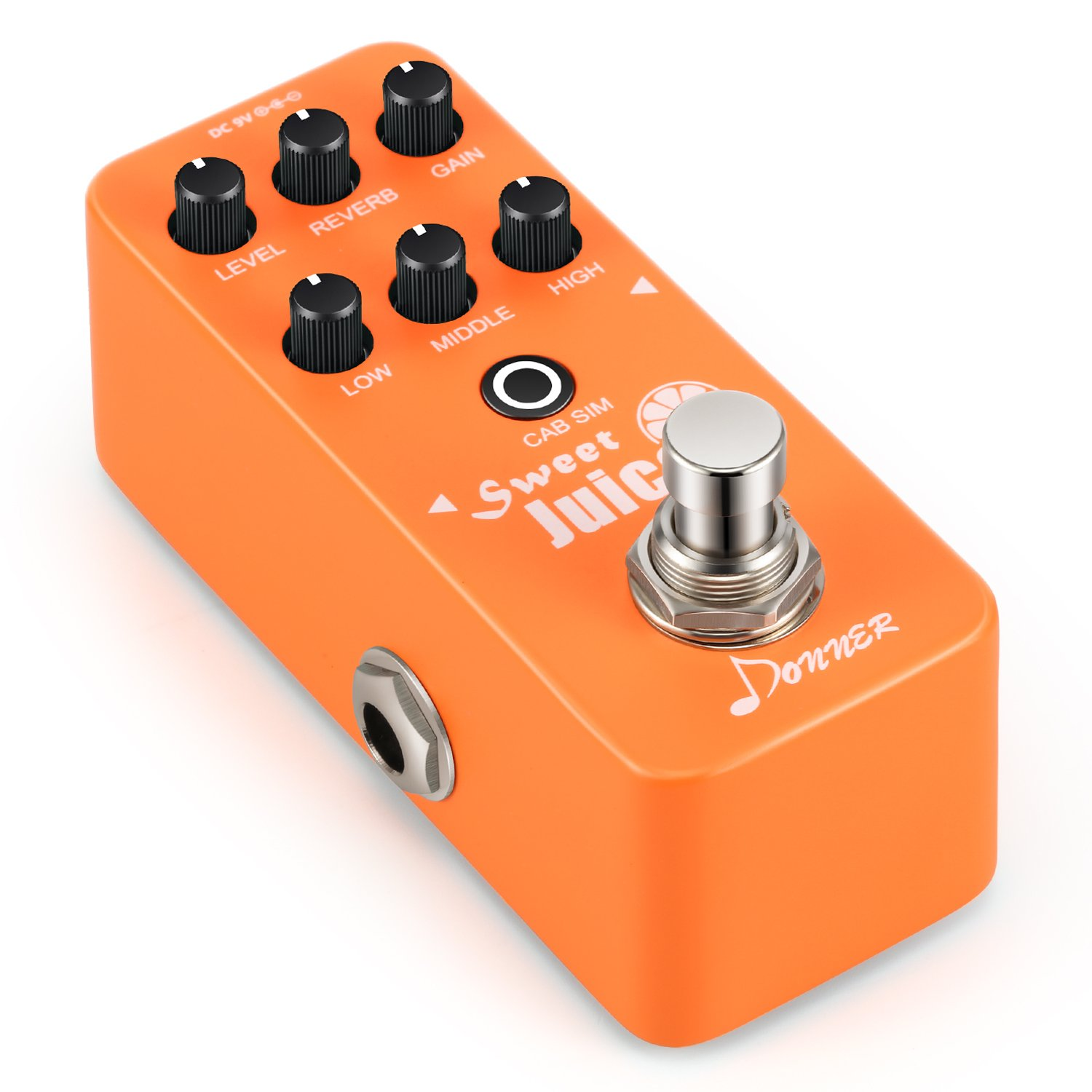 Donner Sweet Juice Mini Electric Guitar Preamp Effect Pedal EC1004