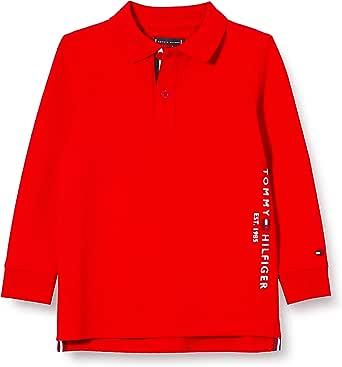 Tommy Hilfiger Essential Established Polo L/S Camisa para Hombre
