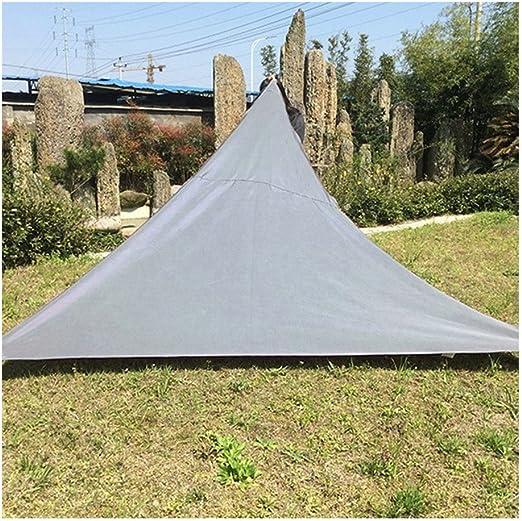 Toldo para jardín, Toldo Protector Solar Triángulo Jardin Patio ...