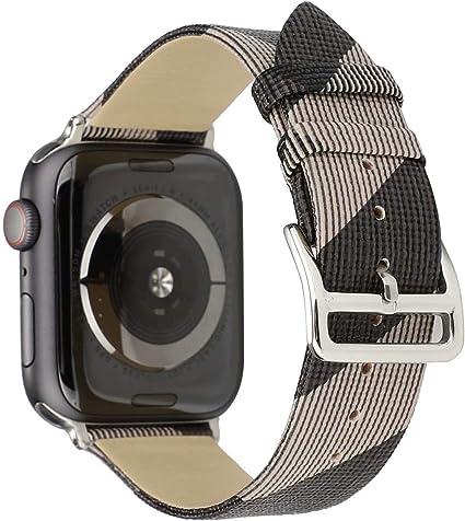 Amazon.com: Correa para reloj Apple Watch de 1.496 in para ...