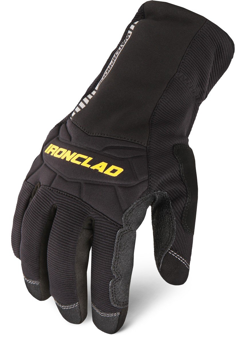 Ironclad CCW2-02-S, Cold Condition Waterproof 2, Black, S