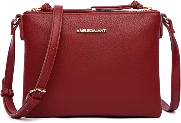 Ladies Satchel Handbag Cross Body Bag Messenger Small Over Shoulder Long Strap