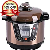 Aobosi Pressure Cooker 3Qt 8-in-1 Electric Multi-cooker, Rice Cooker,Slow Cooker,Yogurt Maker,Warmer,Free Steamer Rack,Cookbook and Extra Sealing Ring |Stainless Steel Cooking Pot【Upgraded】