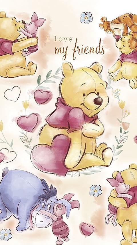 ディズニー くまのプーさん マイ・フレンズ  XFVGA(480×854)壁紙画像
