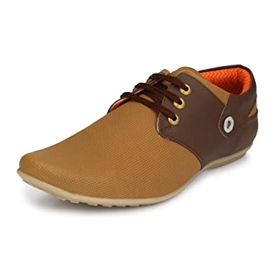 48dd439a9274c Shoes Bank Men's Leather Casual Shoes: Buy Online at Low Prices in ...