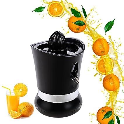 Meykey Exprimidor Eléctrico Para Naranjas y Cítricos,Negro
