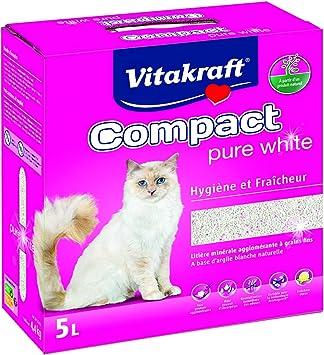 Amazon.com: Vitakraft - Bandeja de arcilla blanca pura para ...