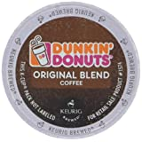 Dunkin Donuts K-Cups Original Flavor Medium Roast - Box of 12 Kcups for use in Keurig Coffee Brewers 5.1oz