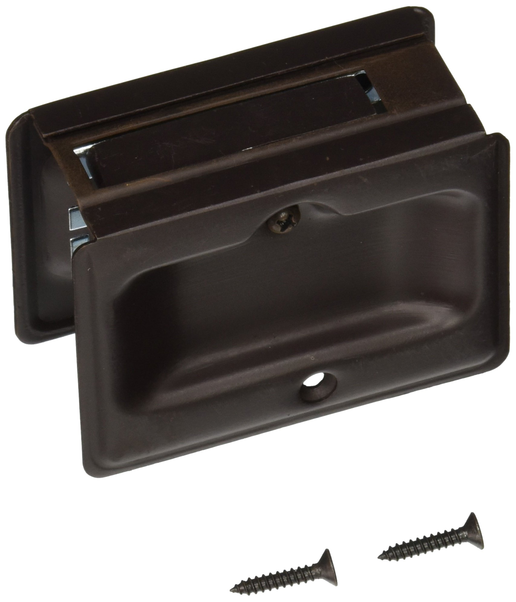 Deltana SDPA325U10B Adjustable 3 1/4-Inch x 2 1/4-Inch Passage HD Pocket Locks