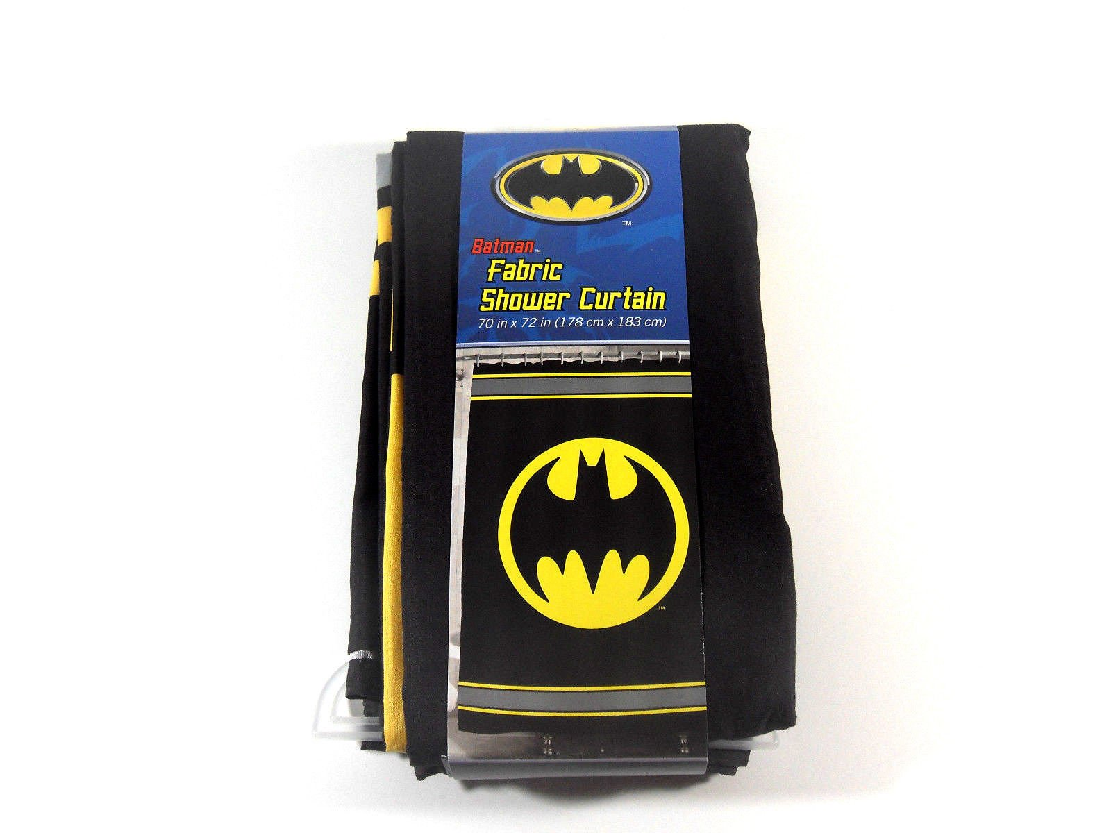 Batman Bathroom Set, Shower Curtain, Hooks, Bath Rug, Bath Towel, Pump Lotion, Toothbrush Holder by Batman (Image #6)