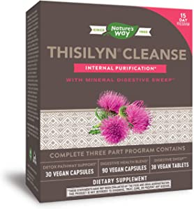 Nature's Way Thisilyn Cleanse with Mineral Digestive Sweep Internal Purification 15 Day Program