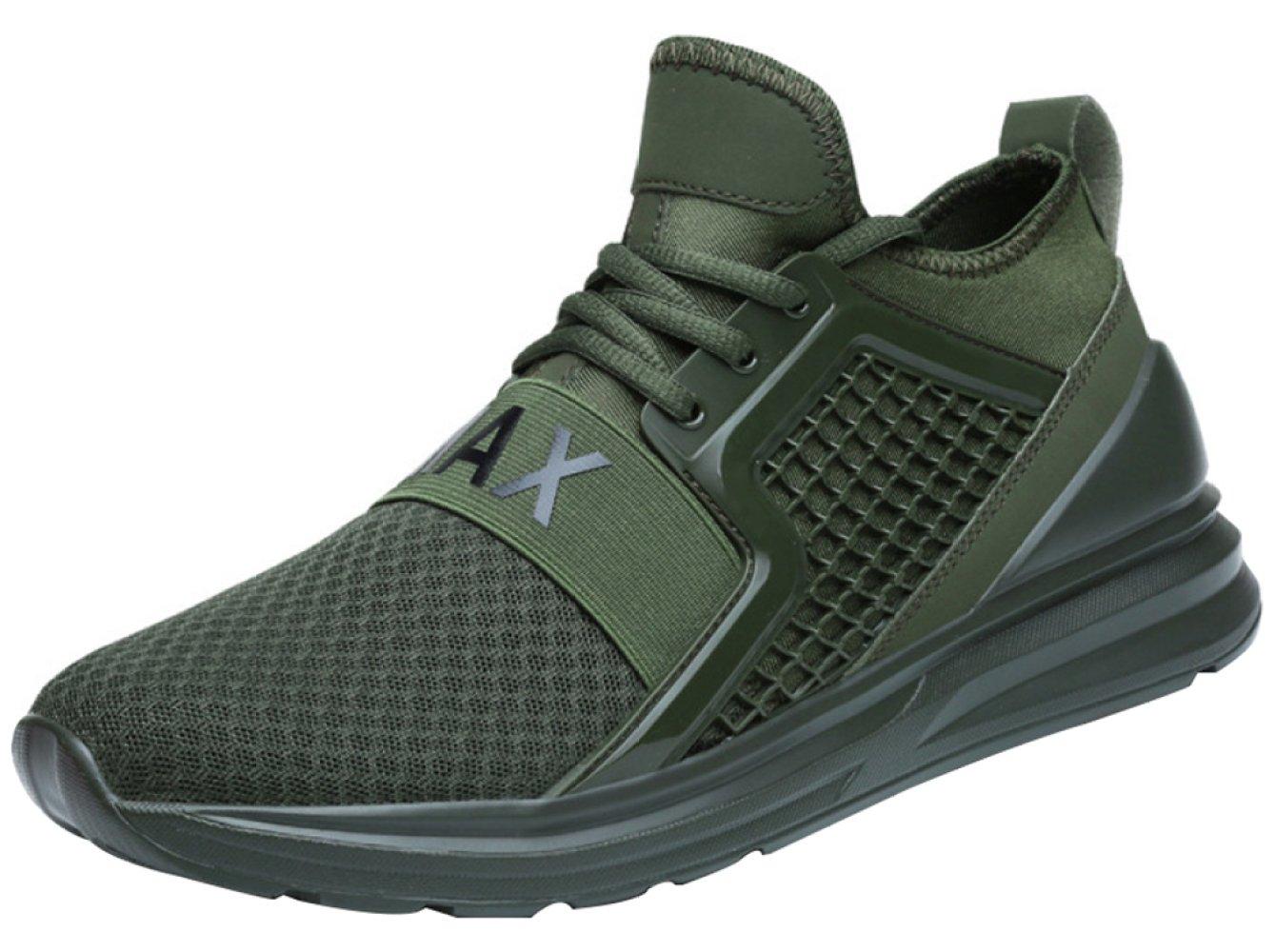 Zapatillas Casuales De Los Hombres Con Zapatos De Senderismo Transpirables De Moda 45EU|Green