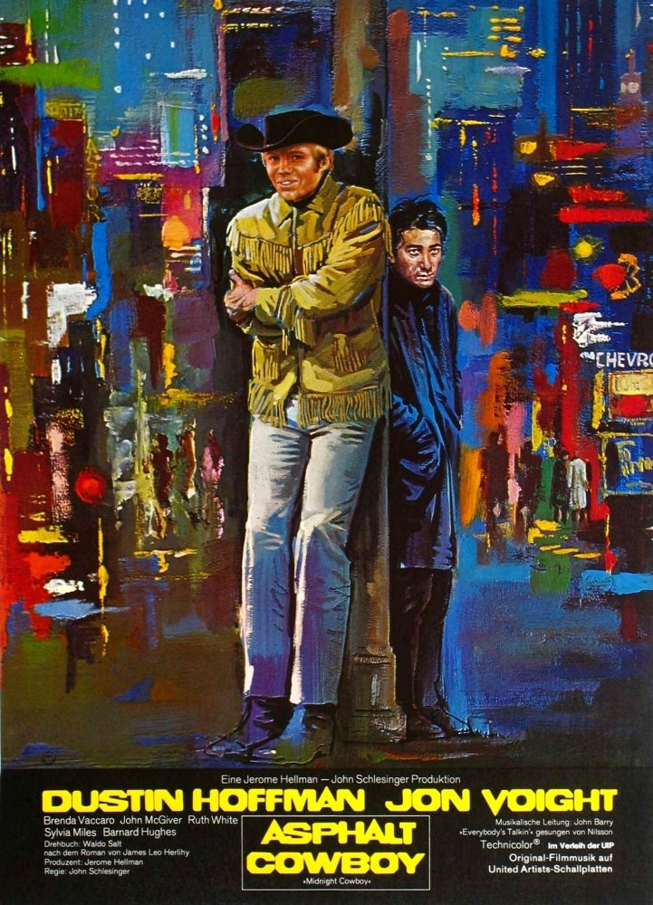 Midnight Cowboy - Foreign Film Poster