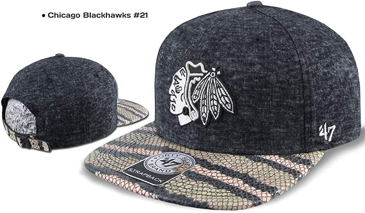 47 Brand Gorra Snapback Chicago Blackhawks Dallas Stars los ...