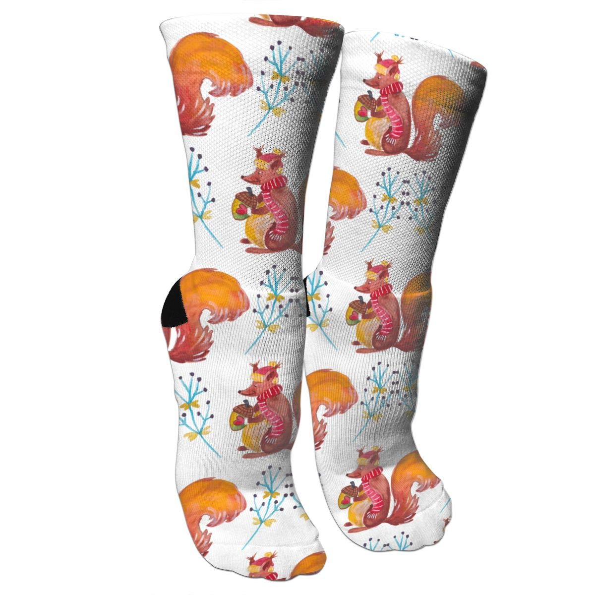 Amazon.com: Squirrel Flower Bottom Line Compression Sock for Women & Men -  Best for Running, Athletic Sports, Flight Travel: Sports & Outdoors