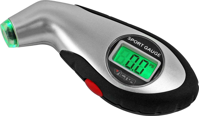 Victor 22-5-60096-8 Digital Sport Bulk Tire Gauge Bell