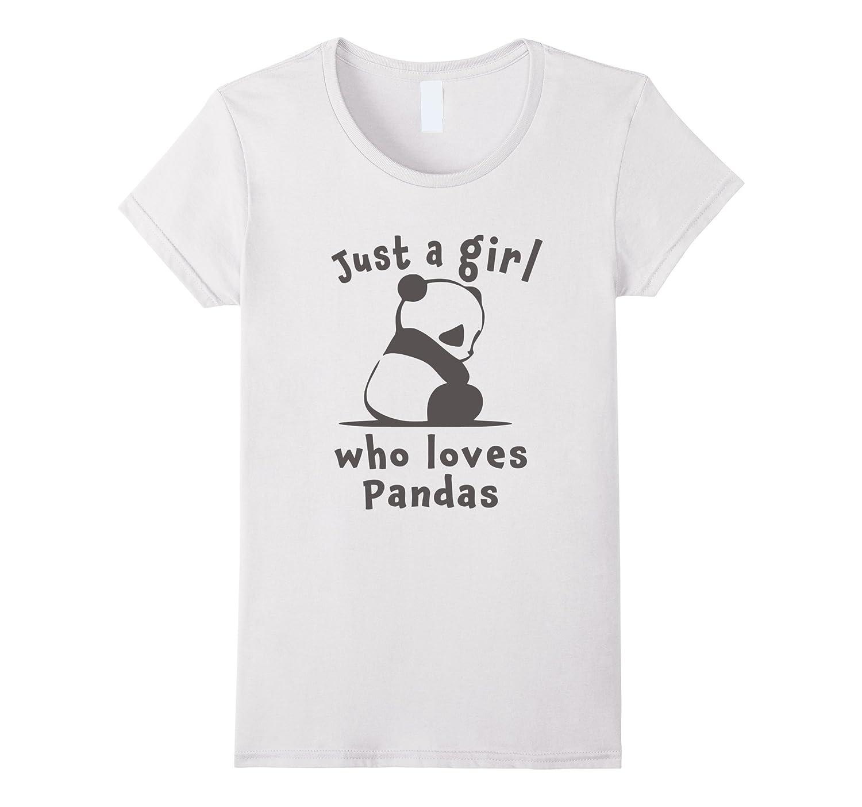 Womens Cutest Panda Gift T Shirt-Veotee