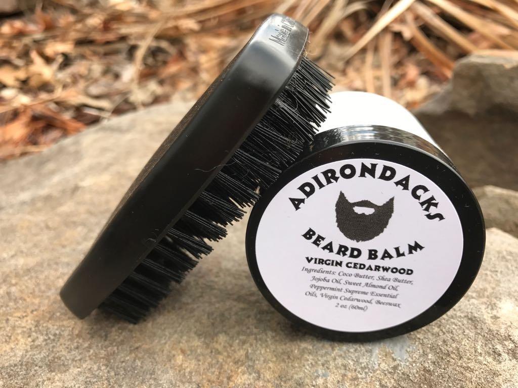 Adirondacks, All Hair Types Beard Balm 2oz -Alcohol-Free tea tree oil scent