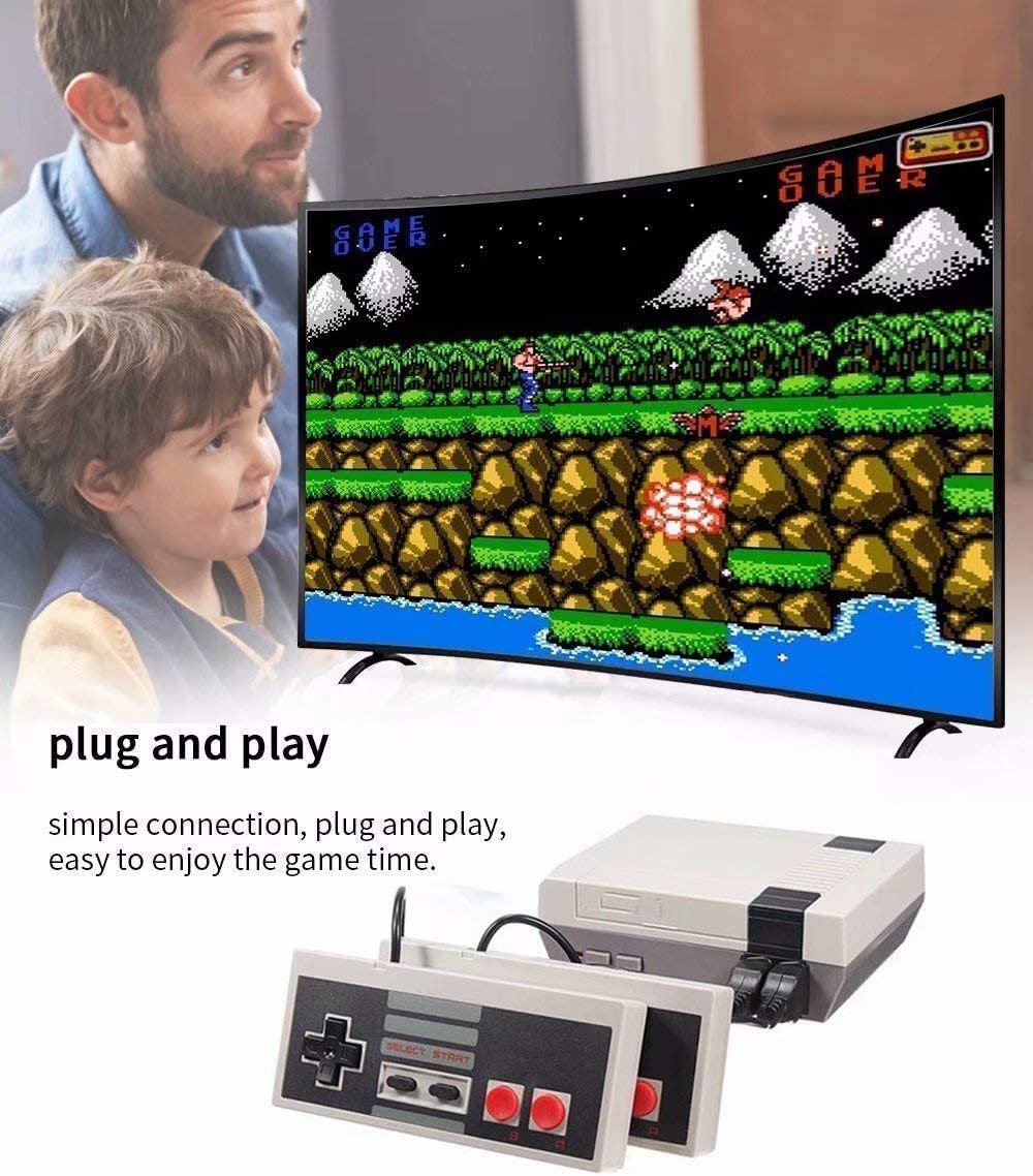 Handheld Game Player Console for Family TV HDMI HD us35 Video Game Console Classic Game Console Built-in 621 Game in TF Card with 2 Joysticks