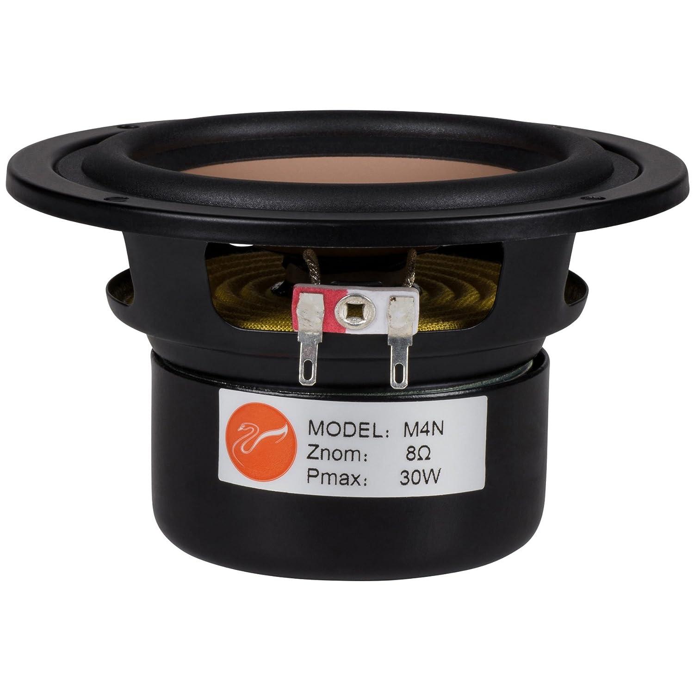 Magnesium Midbass HiVi M4N 4 Aluminum